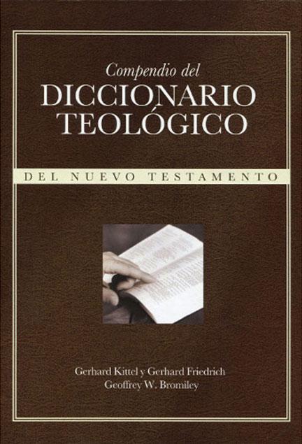Librería Mizpa Compendio del diccionario teológico del nuevo testamento