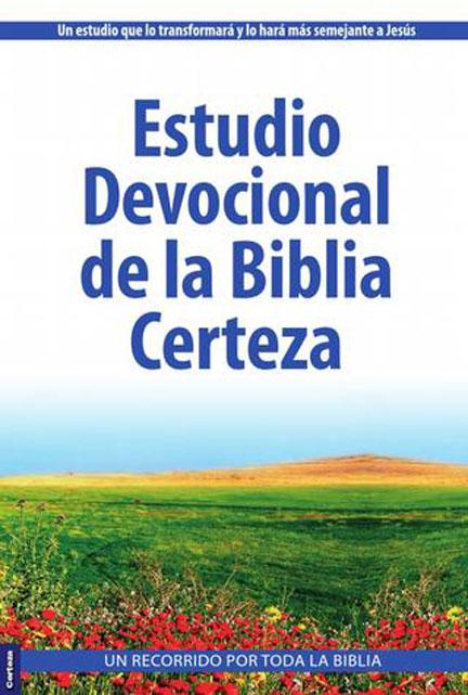 Librería Mizpa Estudio devocional de la Biblia Certeza