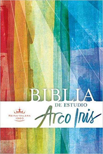 Librería Mizpa Título Biblia de Estudio Arco Iris