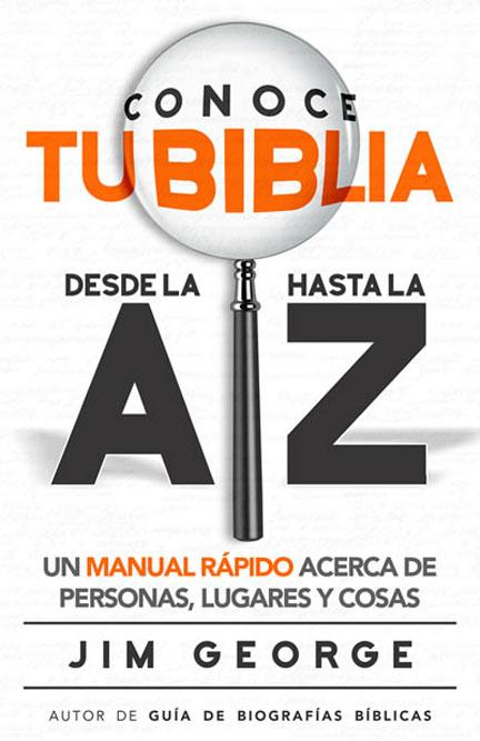Librería-Mizpa - Conoce tu Biblia - Jim George